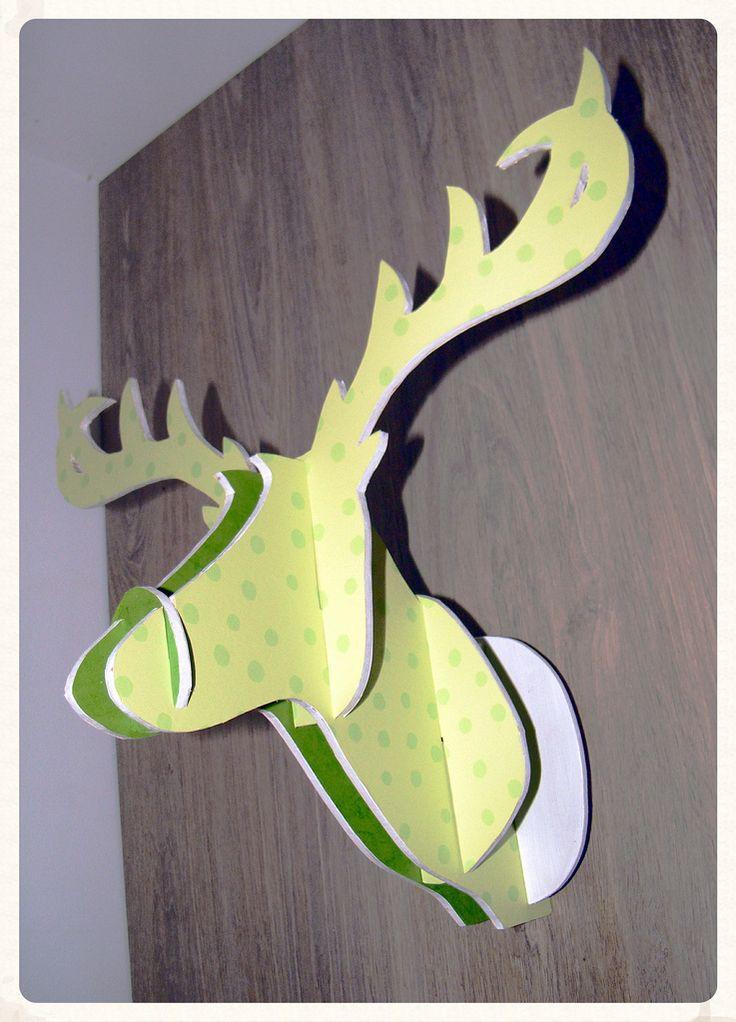 Tutoriel : Fabriquer son trophée cerf DIY - [dd] créations