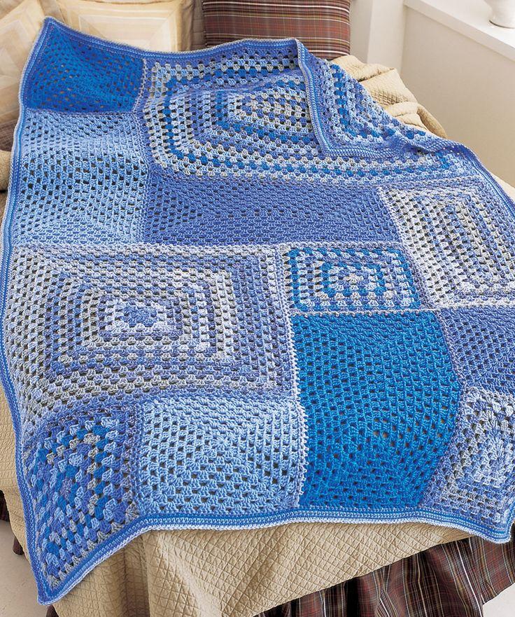 Free Crochet Afghan Patterns Red Heart Yarn : 282 best images about Red Heart Free Crochet Afghan ...