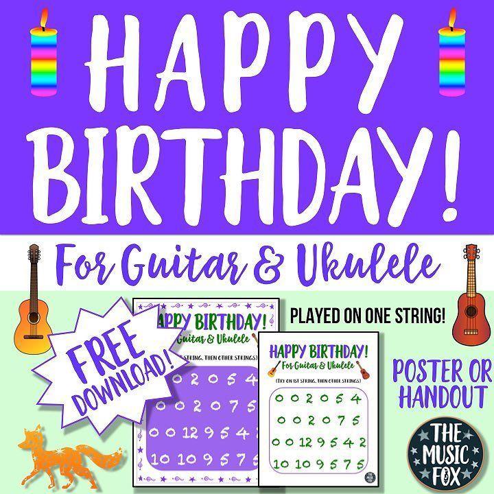 Schön Happy Birthday! No Someone...easy Tabs For Beginning Guitarists. Free  Download