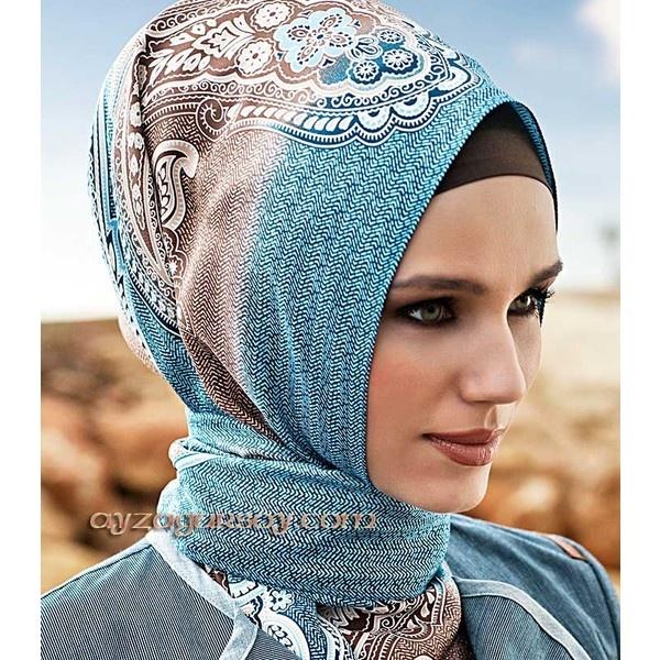 Armine Silk Hijab: 8040 : AyzaGursoy.Com, Online hijab & apparel store found on Polyvore
