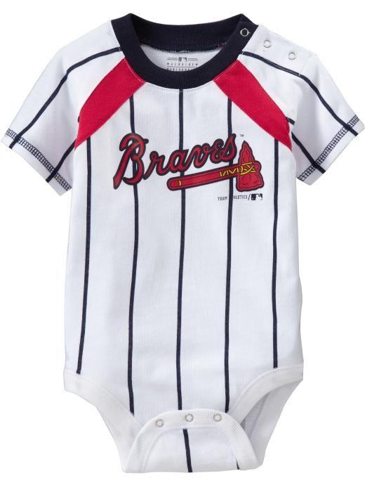 wholesale dealer b6740 7b36d atlanta braves baby jersey