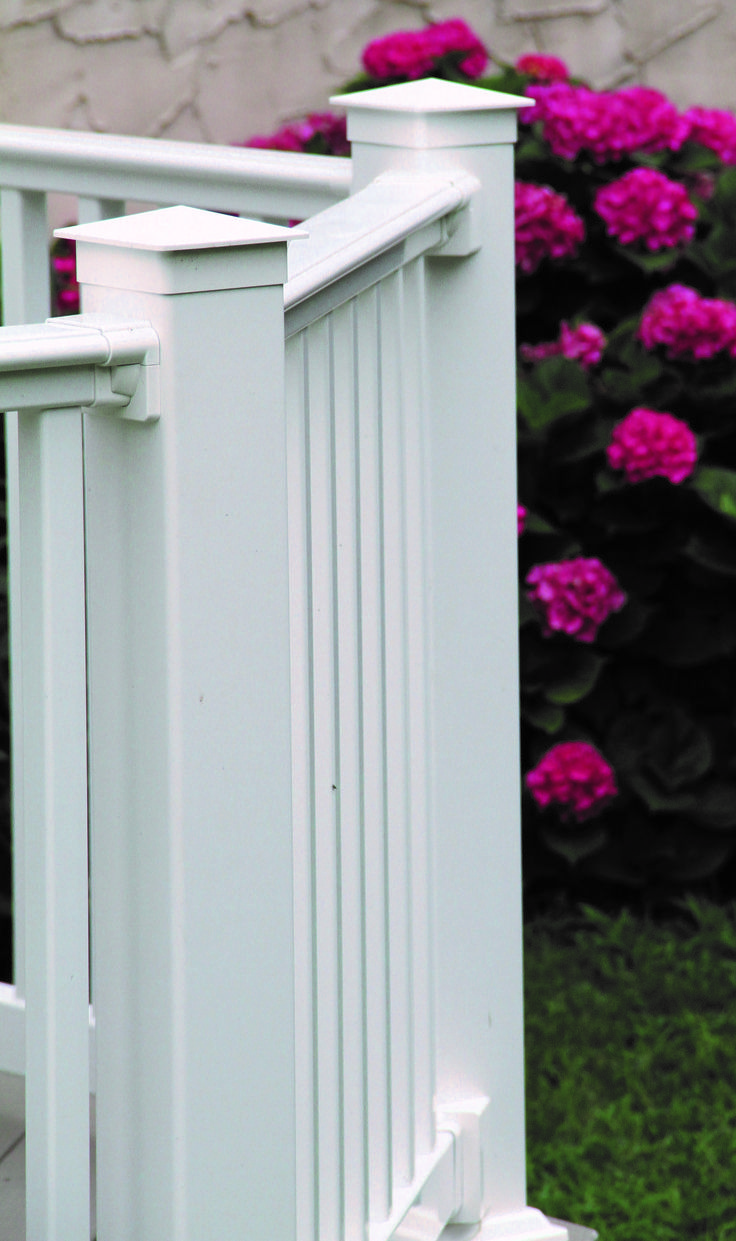 Long lasting beauty. Superior 200 Series Vinyl Railing is perfect for any deck.