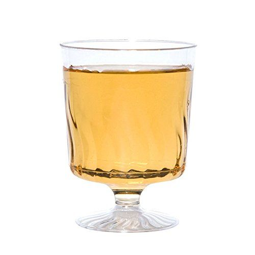 80 Count Disposable Wine Glasses 8 oz Plastic Clear Heavyweight 1-Piece Upscale Nafger sales http://smile.amazon.com/dp/B008A2EWFY/ref=cm_sw_r_pi_dp_D8U-wb0C1VCA6