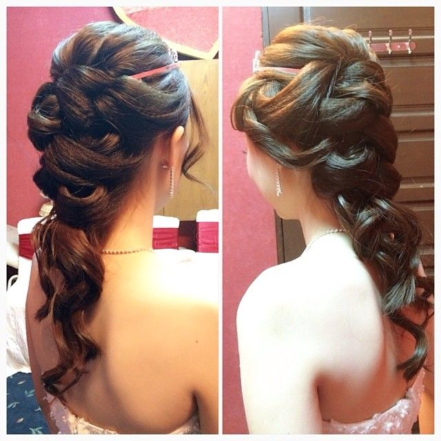 Wedding Dinner Hair Style: 17 Best Images About Hair Styles, Updos, Braids On
