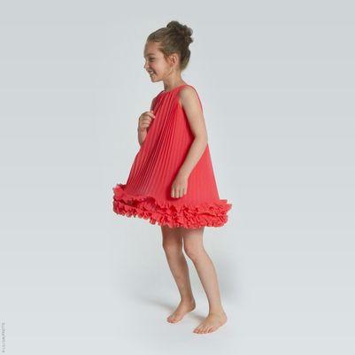 Lili Gaufrette - Pleated crepe dress - 162440