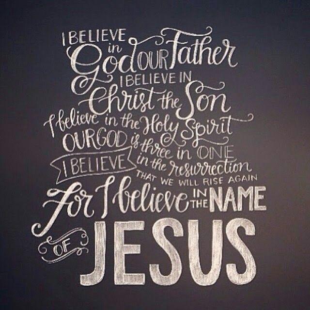 Declaração de fé. Music - I Believe - Hillsong
