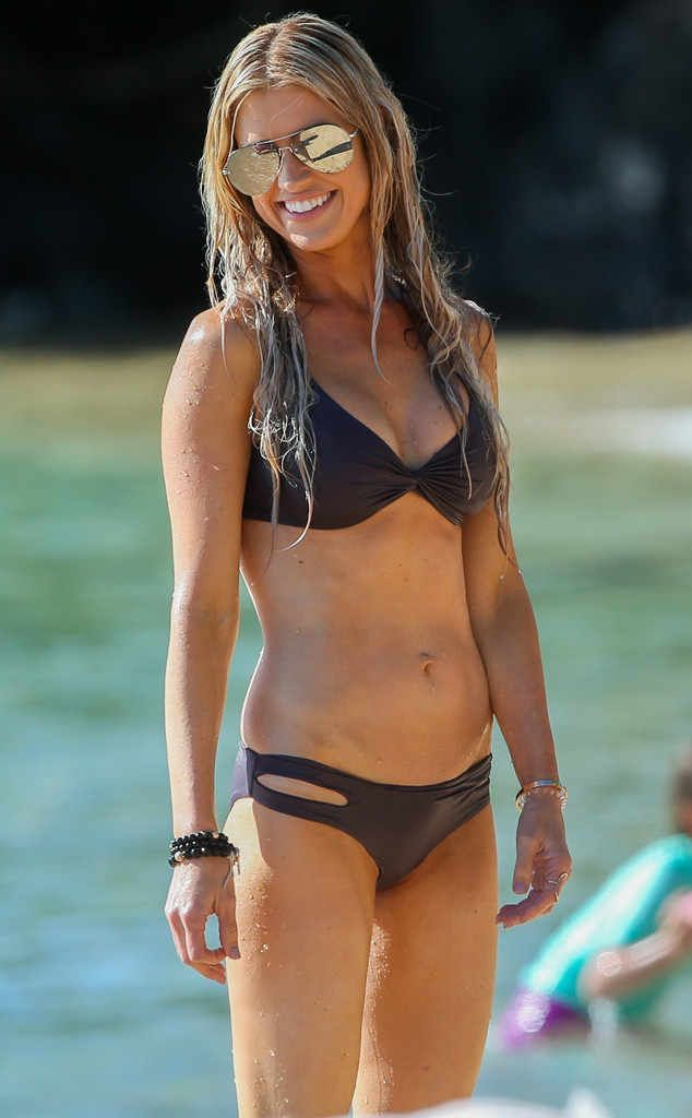 Christina El Moussa from Bikini Gallery  The Flip or Flop star takes a much needed vacation wearing her matching L*Space bikini topand bottoms to the beaches of Hawaii.