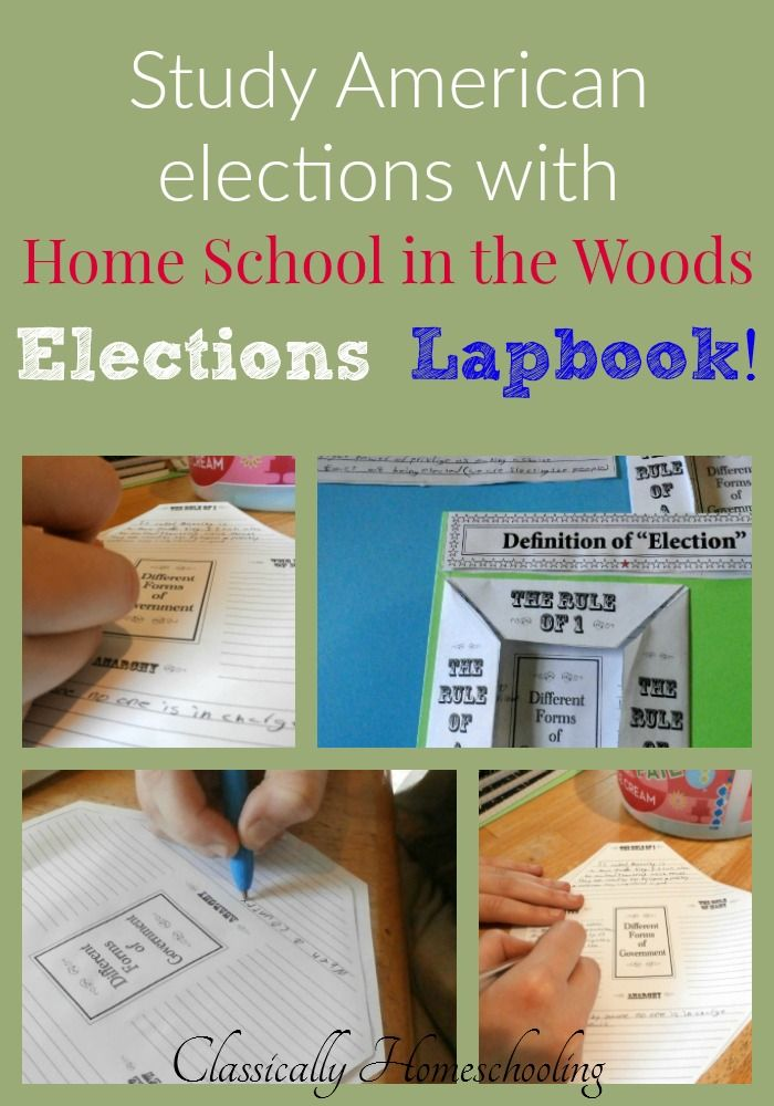 If you've been wanting to introduce civics or government to your study, Home School in the Woods has created a new lapbook all about the American elections to help guide your studies.
