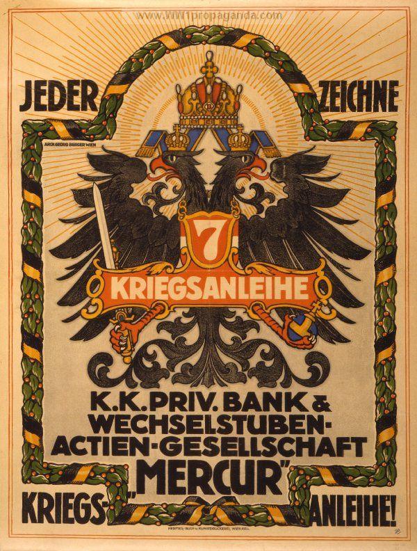 Examples of Propaganda from WW1   Austrian WW1 Propaganda Posters Page 15
