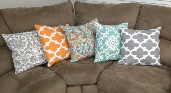 Fabric Swatch Kimberly Collection Sample Valances And Throw Pillows Coordinating Aqua Turquoise