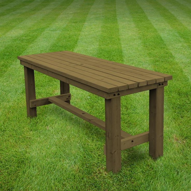 Wardley garden dining table (available in light green/rustic brown)