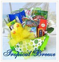 Beach Gift Baskets, Tropical Beach Themed Baskets, Beach Basket, Gifts for the Beach Lover