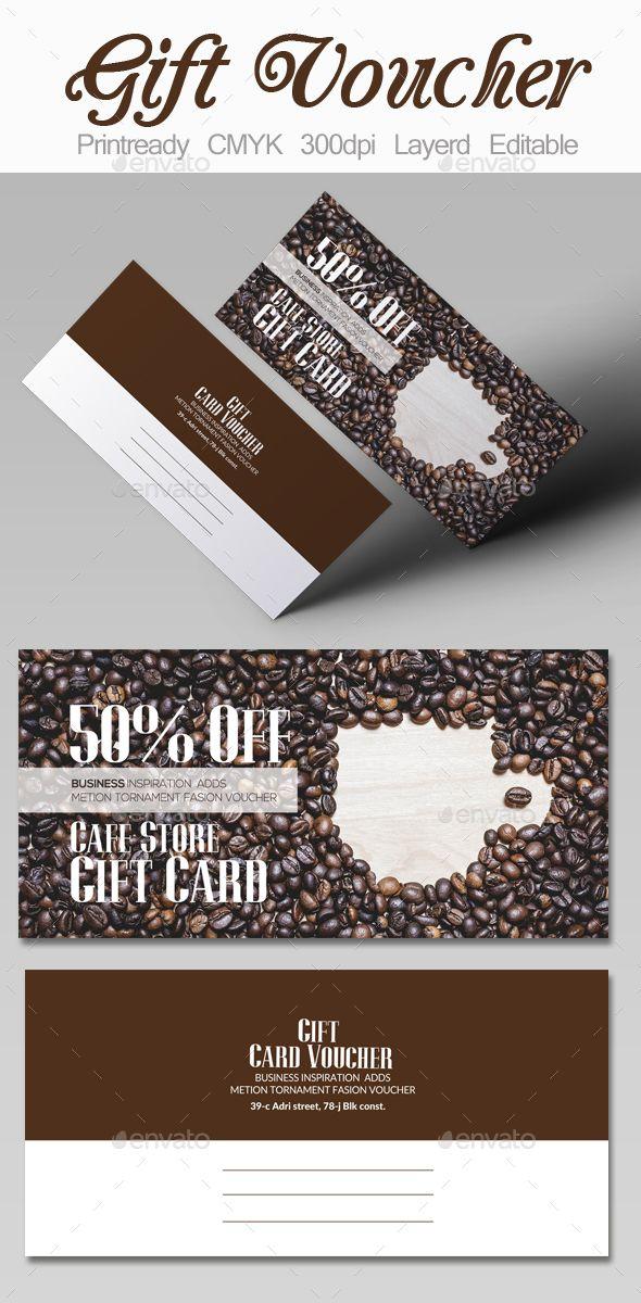 Cafe' Discount Gift Voucher