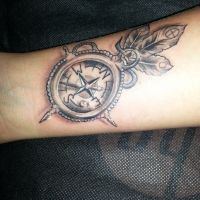 Compass By Tattooist Castro  inspired by Rosslyn