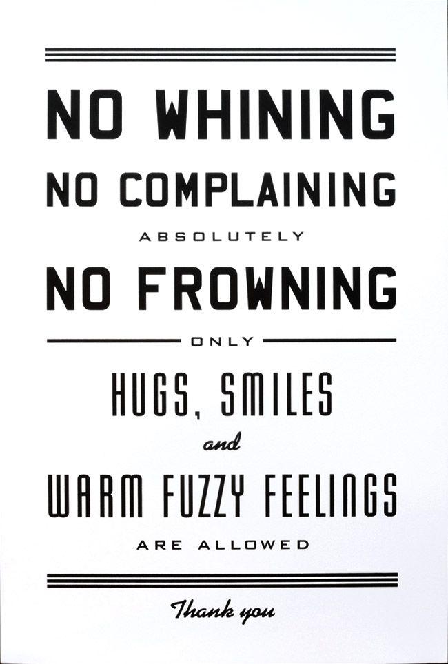 Hugs, Smiles and Warm Fuzzy Feelings