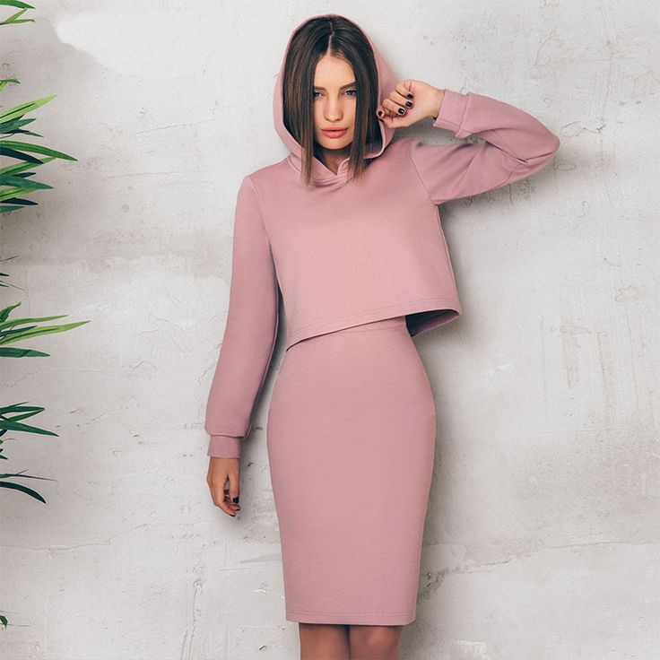 Women's two piece set hooded sweater and high waist skirt Price: 43.95 & FREE Shipping #women #clothing #men #accessories #home #garden #fashion #lifestyle #smartphones #electronics