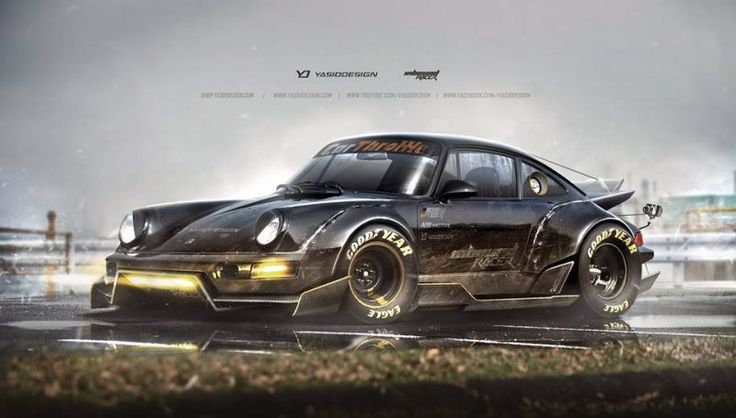 Porsche 911 and Motorcycles: Mad Max inspired two wheels and four wheels