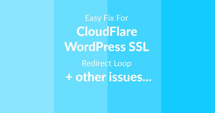 There is an easy solution for the SSL issues you're having after enabling CloudFlare SSL. After enabling CloudFlare SSL on your site, You might get some issues like, Site not secure or Invalid SSL Warnings Your WordPress site going into Endless Redirect Loop ERR_TOO_MANY_REDIRECTS WordPress wp-admin going into Redirect Loop Or any similar issue or […]