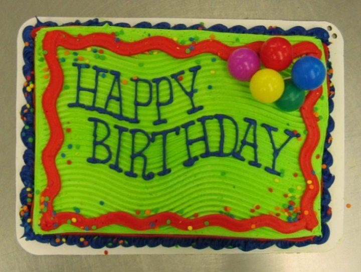109 best Bakery Department Custom Sheet Cake images on Pinterest