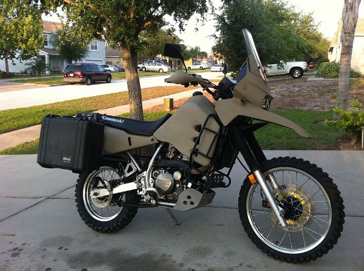 Nicely done KLR650.