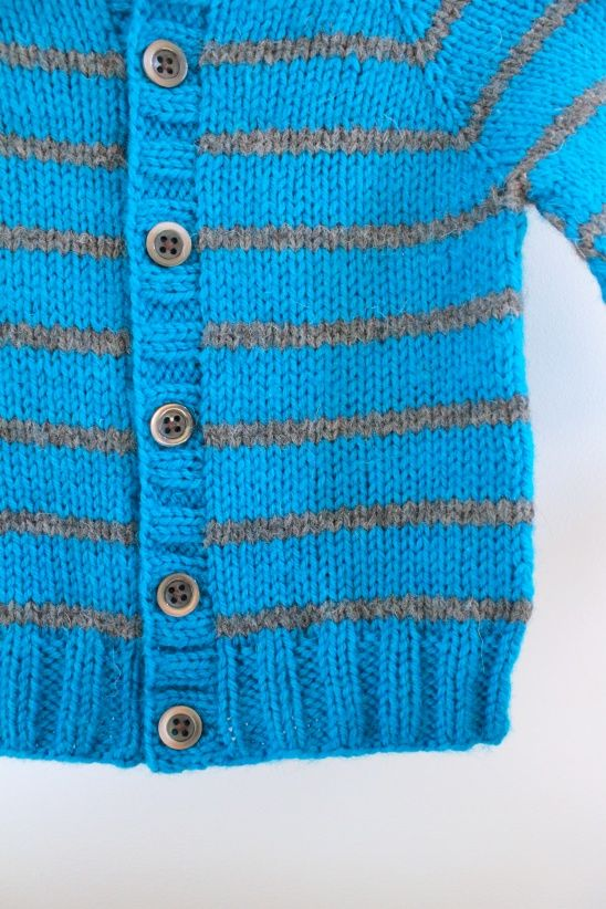 Little Coffe Bean Cardigan by Emilie