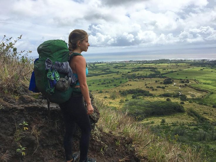 """12.3k Likes, 150 Comments - ALYSE BRAUTIGAM (@rawalignment) on Instagram: """"Yesterday Addison and I hiked up Sleeping Giant Mt. in Kauai. It was raining quite a bit so we were…"""""""