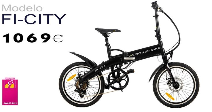 Bicicleta eléctrica plegable  soonerbike ficity