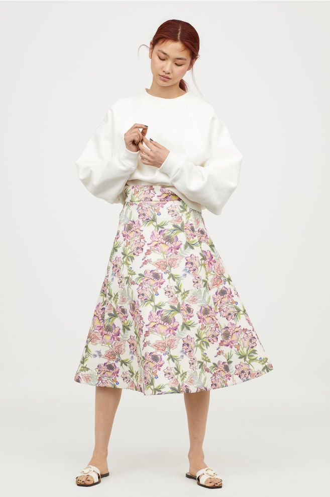 ac7db04a5 Scuba skirt | clothes - back on the agenda | Dressy skirts, White ...