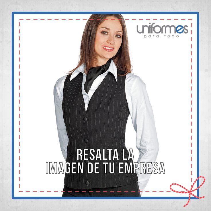 Un uniforme que resalte entre la competencia. #UniformesParaTodo #Empresa #Marca #Estilo #Personalizar