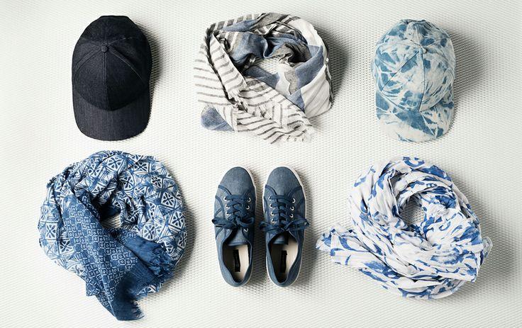 Denim accessories by Seppälä
