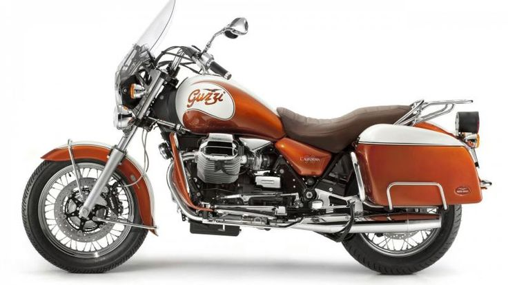 Guzzi Motorcycle Transport Orange