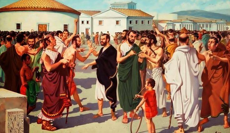 Ο Αλληλοσπαραγμός Δημοκρατικών Αριστοκρατικών στην Αρχαία Ελλάδα