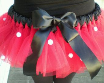 disney marathon costumes   FALL SALEMinnie Mouse Costume Tutu for adult by estchang on Etsy