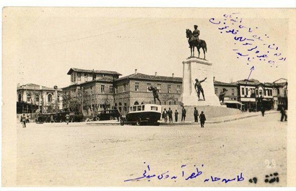 Ulus Atatürk heykeli - Ankara