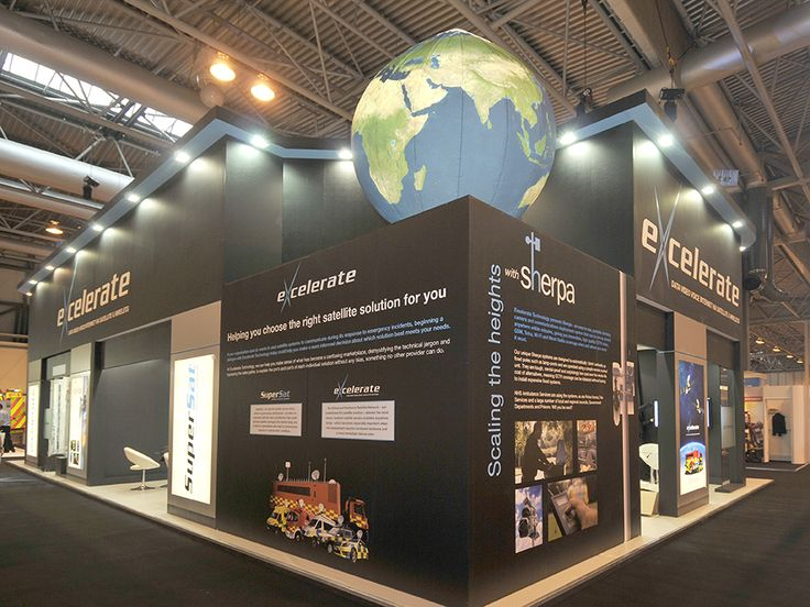 Excelerate stand at Emergency Services Show - NEC