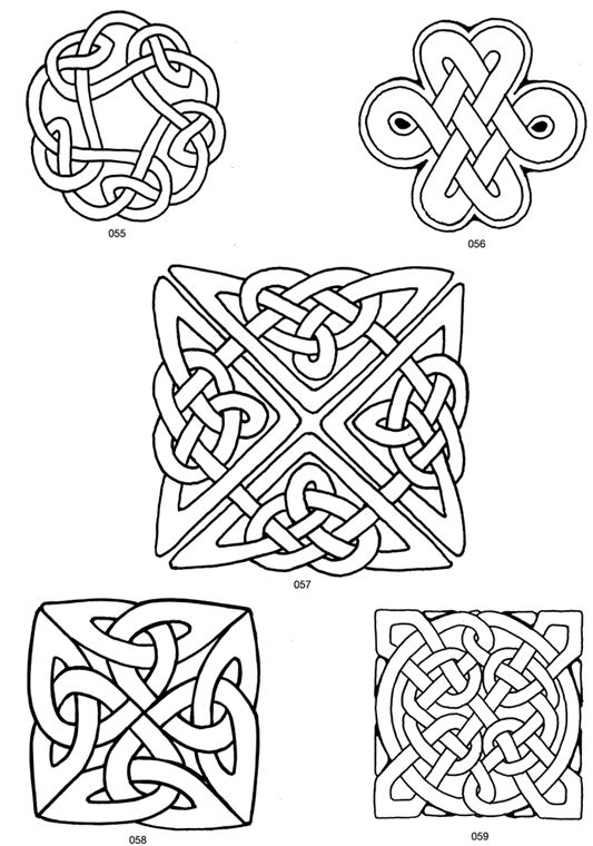 Celtic and norse designs dover clip art free
