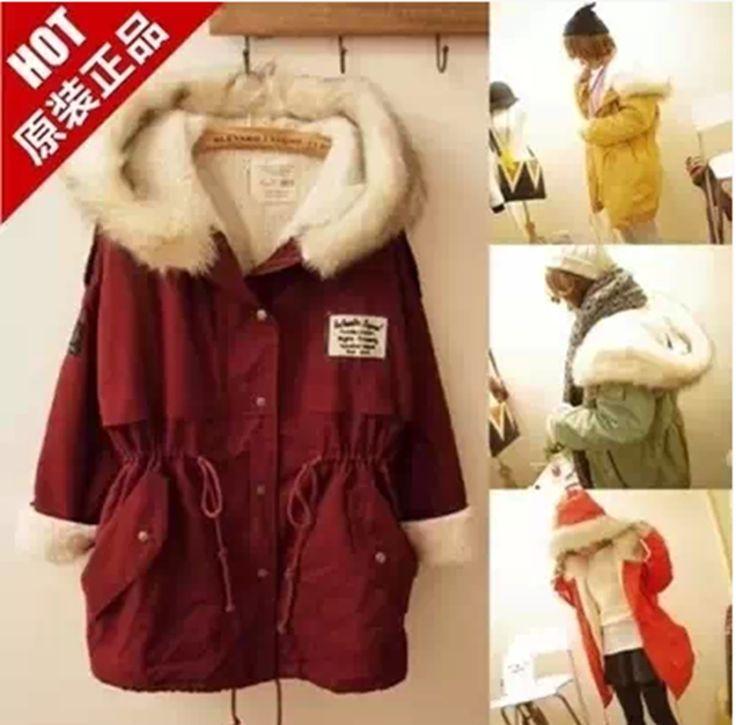 2017 New Long Parkas Female Women Winter Coat Thickening Cotton Winter Jacket Womens Outwear Parkas for Women Winter