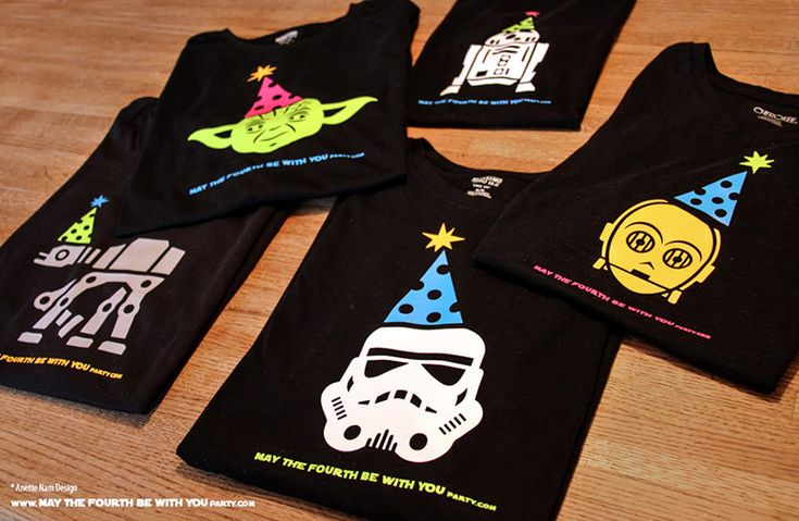 Free Diy Svg May The Fourth Be With You Party T Shirts