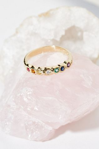 Shop our 14K Rainbow Band Ring at FreePeople.com. Share style pics with FP Me, and read & post reviews. Free shipping worldwide - see site for details.