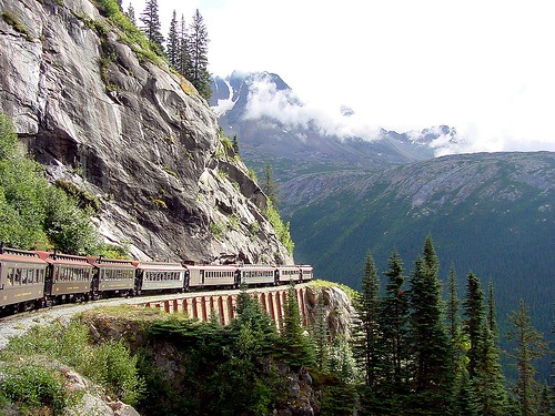 Riding the Whitehorse/Yukon Railway