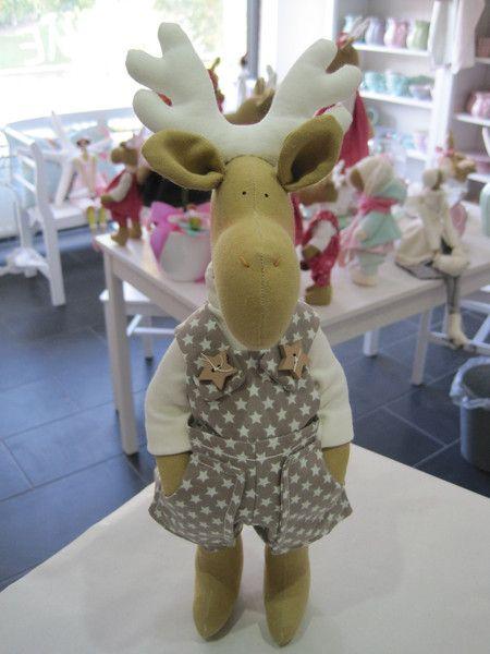 Elch,+Deko,+Weihnachten,+Geschenk+von+Sweet+Home+Iris+Gorhold+auf+DaWanda.com