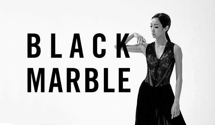 """루스플라이 블랙의 카리스마. """"블랙마블"""""""