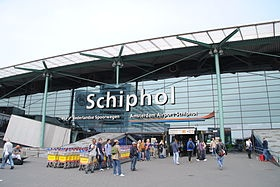 Schiphol Airport, Amsterdam, The Netherlands