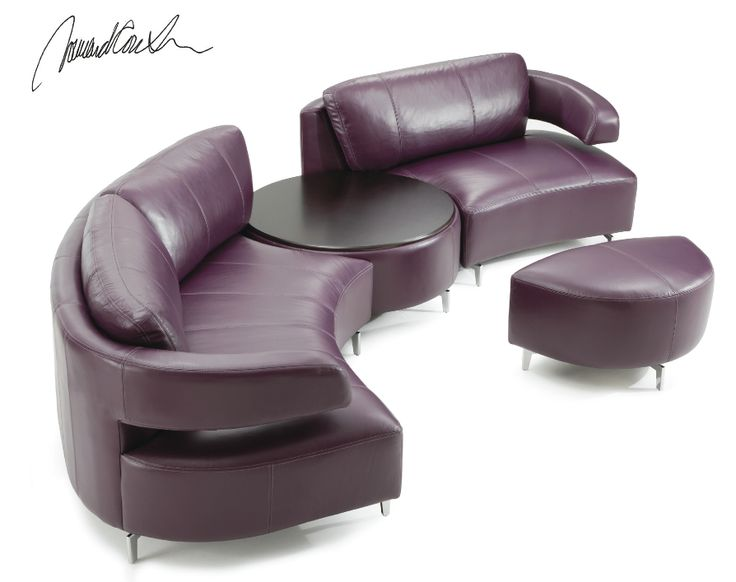 You want modern? You got it! The Wide Open Collection is snaz up any room with its unique shape and design. Order just as a sofa or love and get a sectional and throw a table in between! Available in fabric or leather or fabric/leather combo!