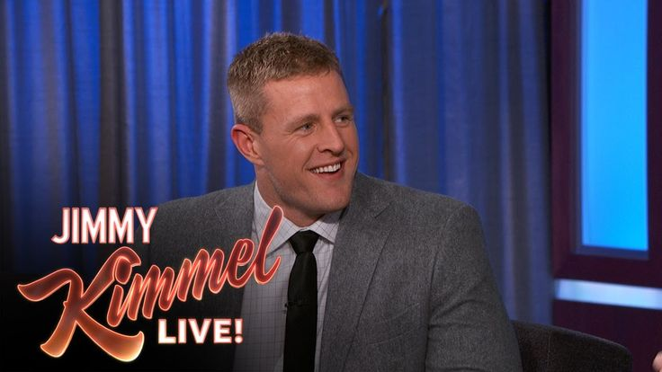JJ Watt on Jimmy Kimmel: Being Thifty, Google What Do Rich People Buy