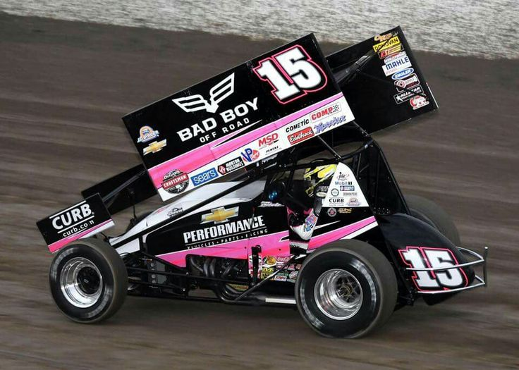 Donny Schatz World of Outlaws Winged Sprint Car driver