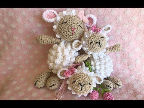 Como fazer amigurumi de crochê -  WORKSHOP OVELHINHA PIPOCA - YouTube