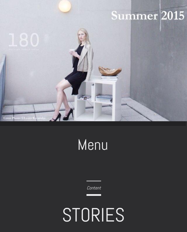 ANIA for 180 Magazine by Laura Kovanska!