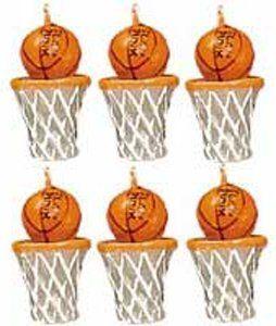 Amazon.com: Wilton Candle Set - Basketballs: Kitchen & Dining