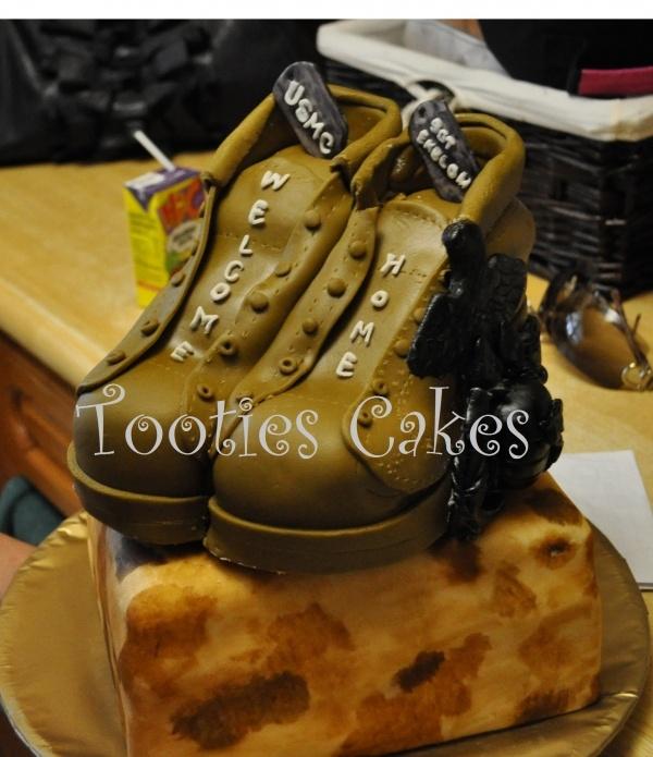 Usmc Cake Detail